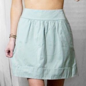 Ann Taylor LOFT Blue A-Line Skirt
